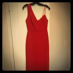 BCBGMAXAZRIA Red Evening Dress Size 2 - Never Worn